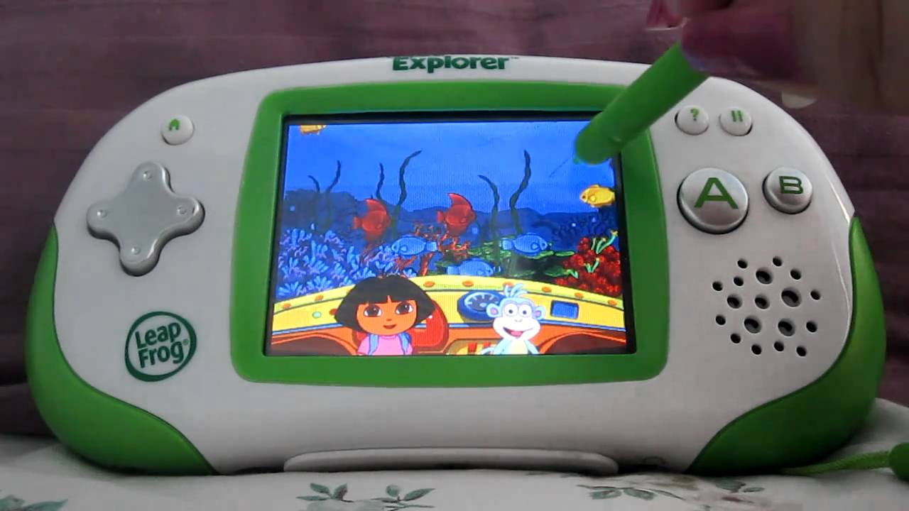 Leapster Explorer Dora The Explorer Worldwide Rescue Game