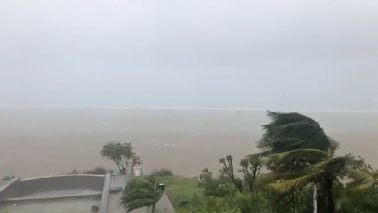 Le vent se renforce à Rodrigues à l'approche du cyclone JOANINHA