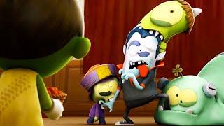Zizi เปลี่ยนสัตว์ประหลาดให้กลายเป็นซอมบี้! | Spookiz | การ์ตูนสำหรับเด็ก