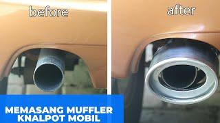 Muffler Cutter Ujung Pipa Knalpot Mobil Universal