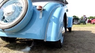 Auto Union DKW IFA F7 - 2 stroke sound - [HD]