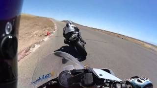 2015 S1000RR - AMA Pro Racer's first laps at Big Willow