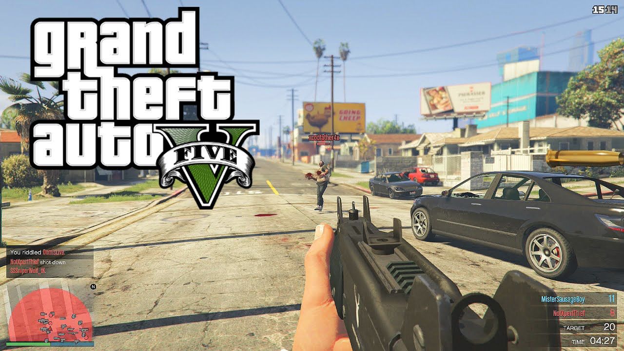 ps4 gta 5 online first person death match gameplay youtube. Black Bedroom Furniture Sets. Home Design Ideas