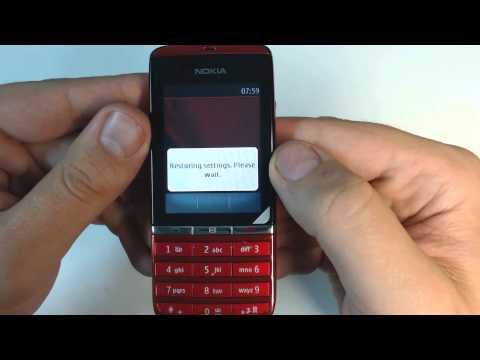 Nokia 300 factory reset