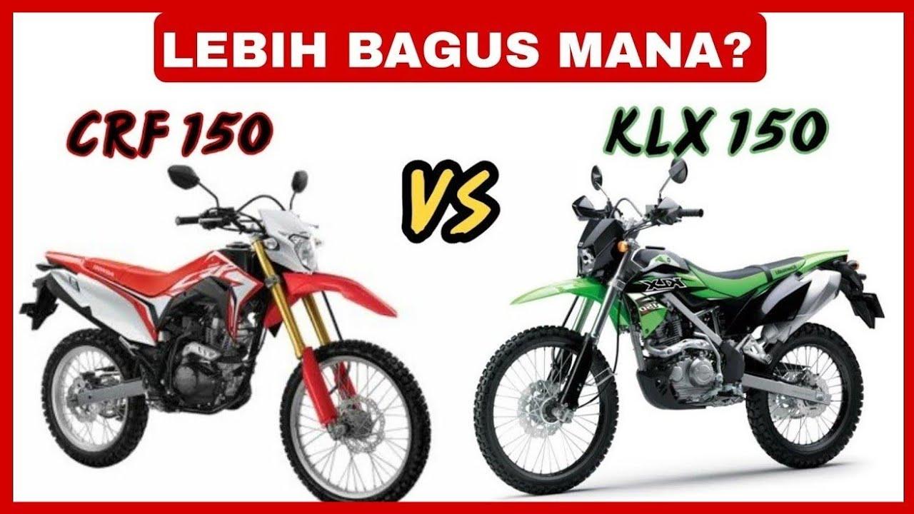 Perbandingan CRF 150L vs KLX 150   YouTube