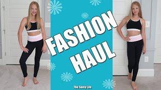 Фитнес Музыка Одежда. Fashion Haul SUMMER 2019   Fitness Wear Try-On