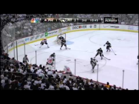 Flyers Amazing Come Back From 0-3 Deficit Against Penguins (2012 Stanley Cup Playoffs, Game 1)