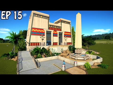 Egyptian Temple Station | Planet Coaster Build | Inverted Coaster