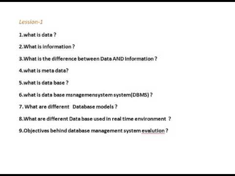 database questions Database testing interview questions with answers from the experts this is collection of 31 top db testing interview questions with detailed answers these db testing questions are mostly asked in qa testing interviews.