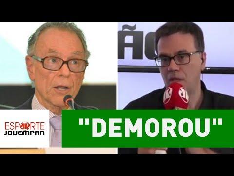 """""""Demorou"""", diz Mauro Beting sobre Nuzman na mira da PF!"""