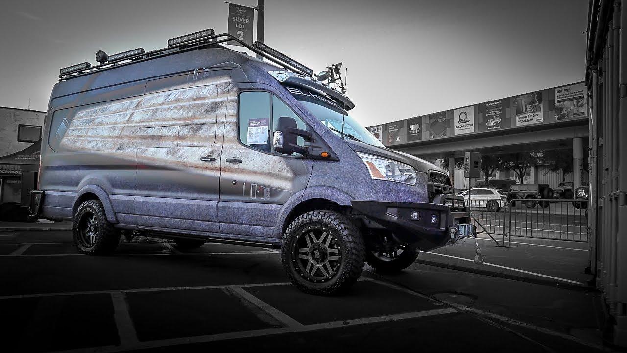 EL KAPITAN Ford Transit MX Conversion Van - YouTube