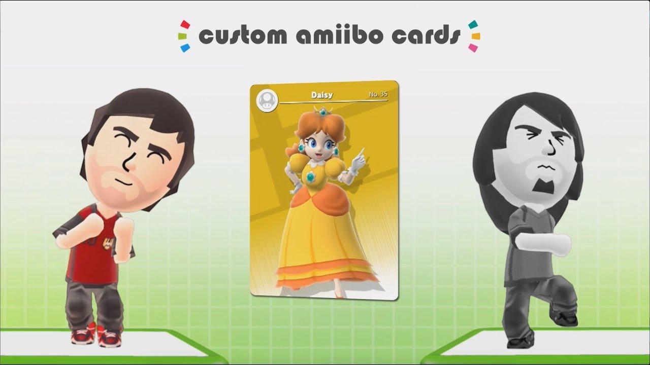 Daisy Mii Qr Code Tomodachi Life: Custom Daisy Amiibo Card