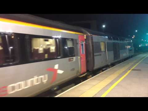 class 43 (hst) cross country leave Sheffield train station