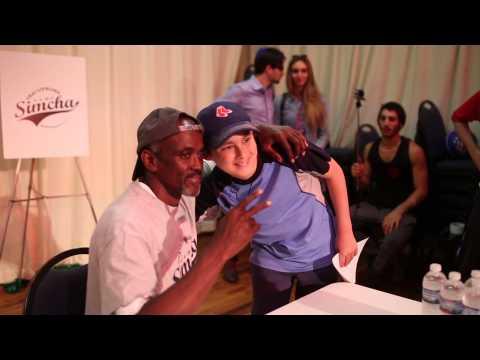 Camp Simcha Boys 2015: NBA Champ Craig Hodges Visits