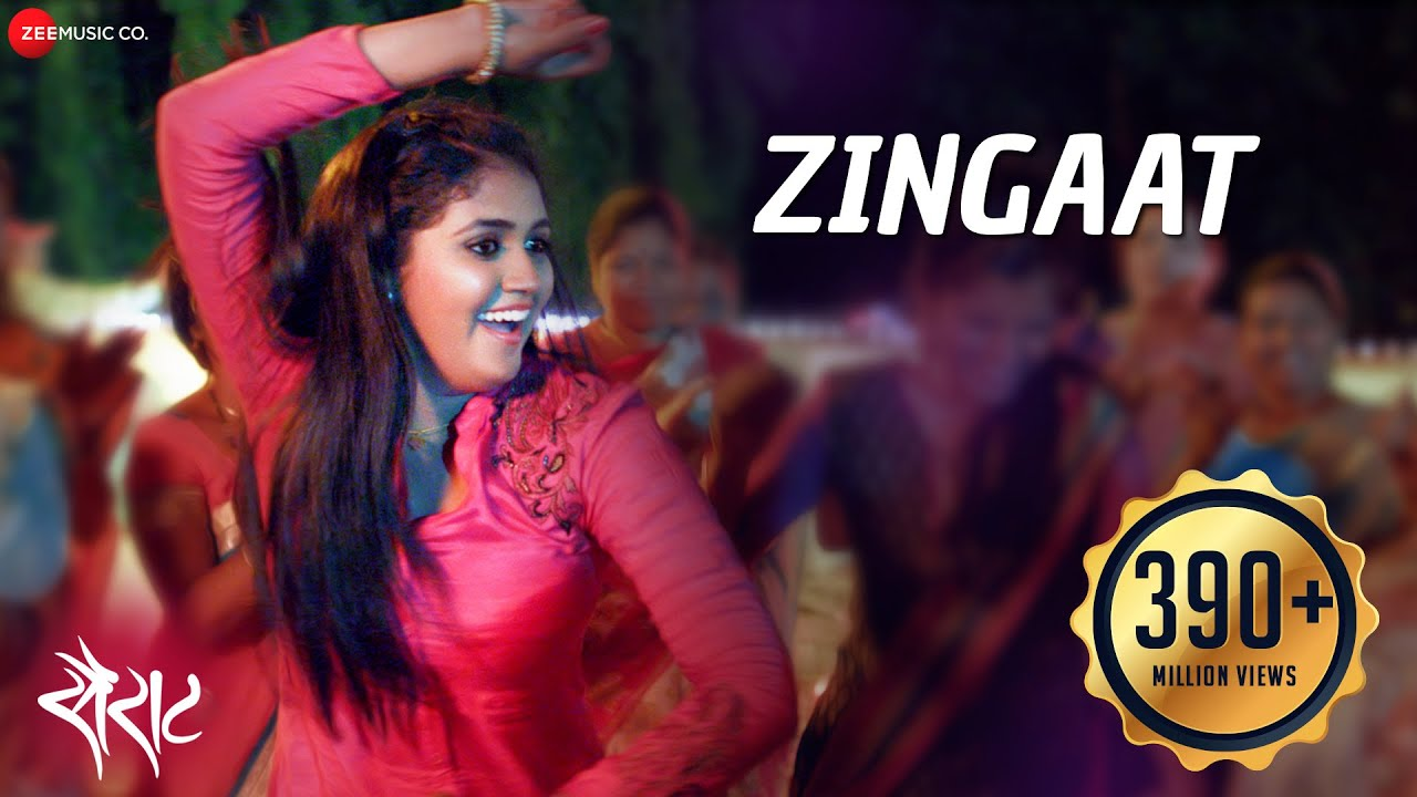Download Zingaat - Official Full Video | Sairat | Akash Thosar & Rinku Rajguru | Ajay Atul | Nagraj Manjule