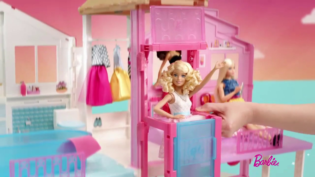 Maison De Luxe De Barbie Poupons Et Poupees La Grande Recre