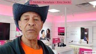 A quick stop at T Mobile for T Mobile Tuesdays