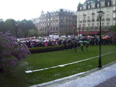 Srilankan tamil protests in OSLO_Norway_210509
