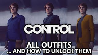 CONTROL - All Outfits & How to Unlock Them (Janitor's Outfit, Golden Suit, Candidate P7, etc)