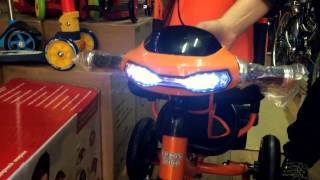 Lexus trike Трехколесный велосипед с ручкой(Lexus trike с фарой., 2015-04-20T18:45:37.000Z)
