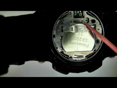 G-Shock Fisherman Battery Change Reset