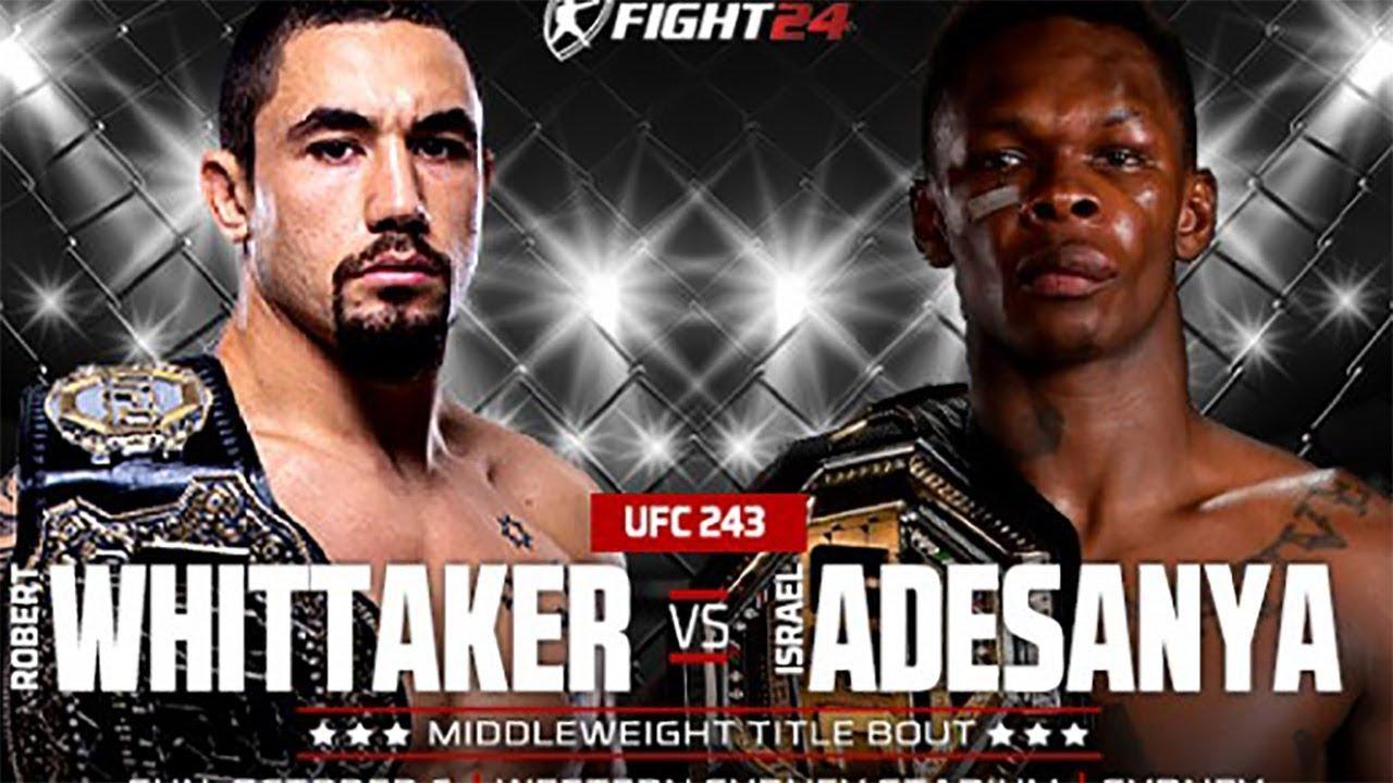 "UFC 243 Robert ""The Reaper"" Wh..."