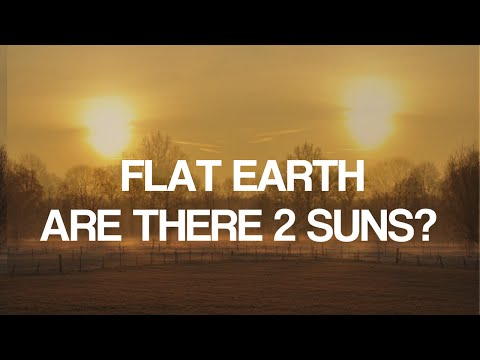 FLAT EARTH:  Are There  Two Suns?  You Be The Judge thumbnail