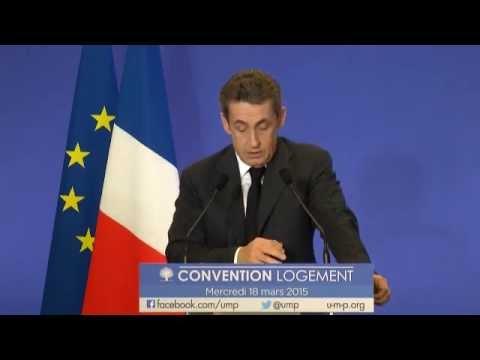 Convention logement - Nicolas Sarkozy
