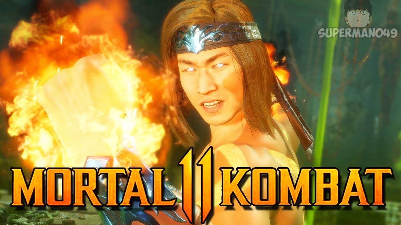 "OSH-TEKK WARRIOR LIU KANG! - Mortal Kombat 11: ""Liu Kang"" Gameplay"