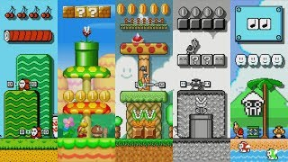 What if Mario Maker 2 Had Additional Game/Level Themes? (Via Mario Maker 1 Mods!)