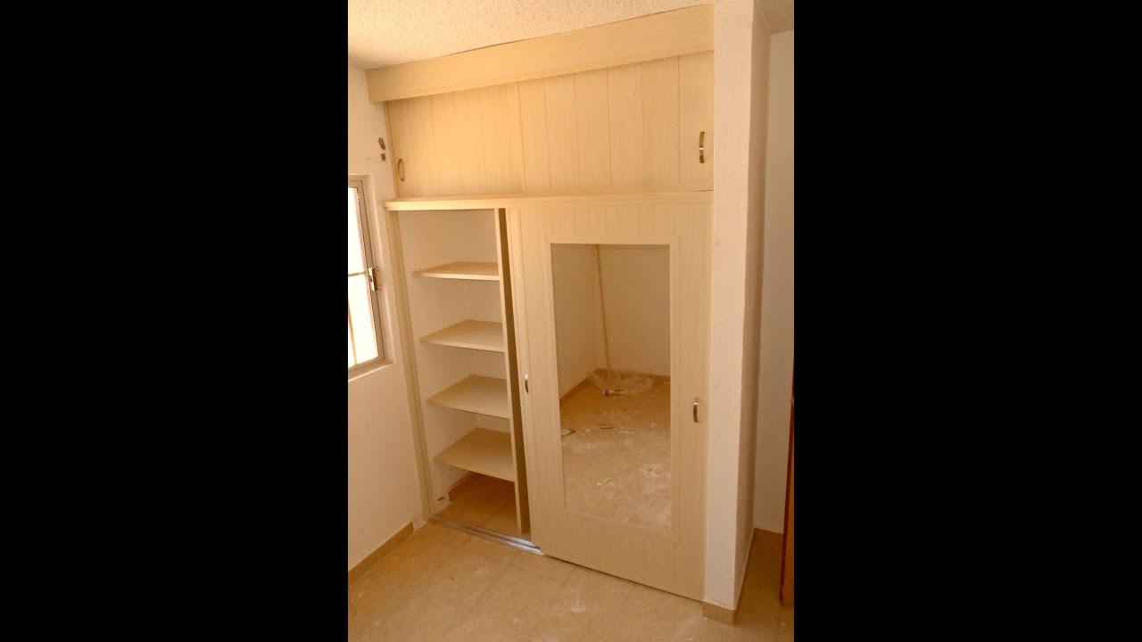 Closet corredizo reforzado de pvc youtube for Modelos de zapateras en closet