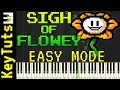 Learn to Play Sigh of Flowey from Undertale AU   Easy Mode
