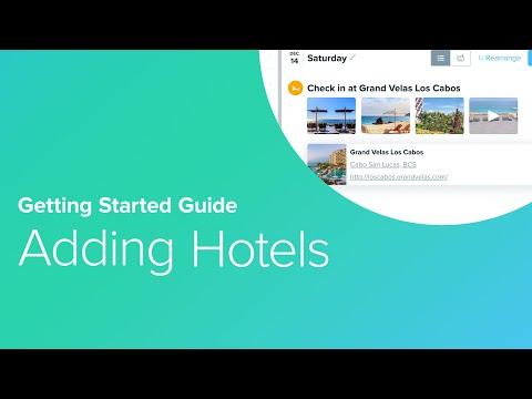 4. Adding Hotels