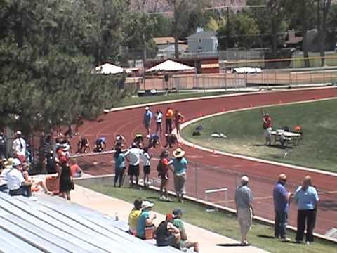 Ages 50 54 55 59 100 meter sprint utah summer games youtube