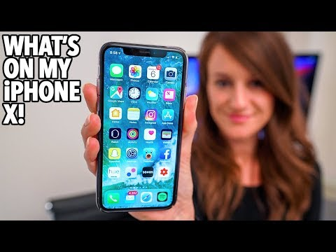 What's On My iPhone X!