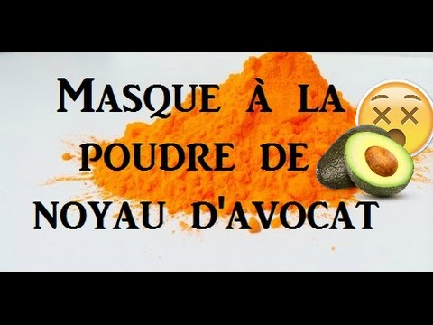 17 beaut masque la poudre de noyau d 39 avocat youtube. Black Bedroom Furniture Sets. Home Design Ideas