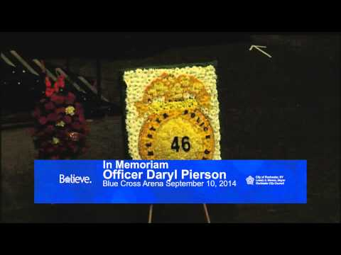 Funeral for RPD Officer Daryl Pierson