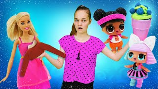 Весёлые игры для девочек - Помогаем Барби и куклам Лол! - Сборник видео шоу Будет исполнено.