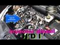peugeot 307 hdi  (sacar inyector diesel  common rail )parte 2