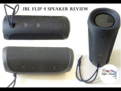 JBL Flip 4 Speaker - REVIEW |Portable | waterproof | Bluetooth SPEAKER | REASONABLE | FOR HOME USE