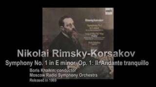 Rimsky-Korsakov - Symphony No. 1: Second Movement [Part 2/4]