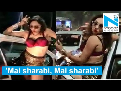 Topless Drunk Girl Creates Ruckus On Jaipur Streets, Blows Flying Kisses