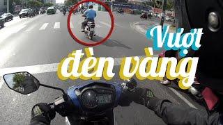 Ride Diary 20 - VƯỢT ĐÈN VÀNG VÀ HẬU QUẢ - Exciter 150 - Vietnam motovlog