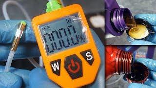 Tester jakości oleju MO6001 Sprawdź, kiedy wymienić olej?
