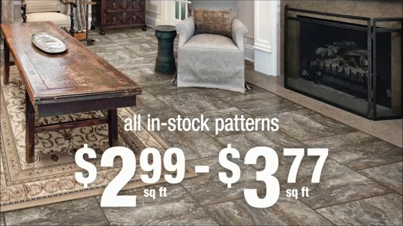 Congoleum Duraceramic. Gorgeous flooring for your home. - YouTube