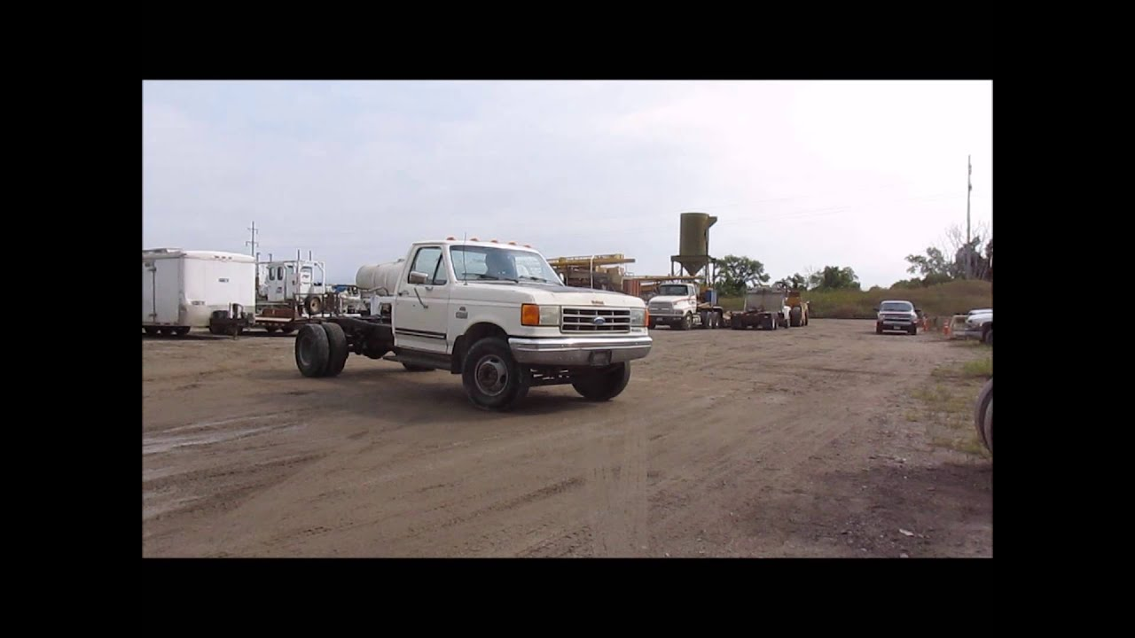 Gmc 3500 For Sale >> 1990 Ford F450 Super Duty truck cab and chassis for sale ...