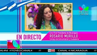 Comunicación con la Vicepresidenta Compañera Rosario Murillo, 19 de Junio de 2018