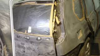 Nissan x-trail в эксклюзивном покрытии титан от команды rubber paint мурманск
