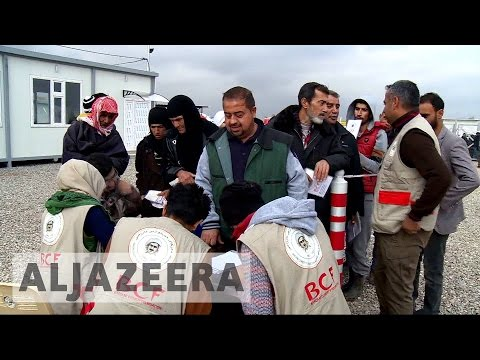 Mosul humanitarian crisis: Aid groups appeal for more resources