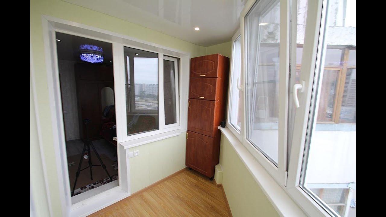 Максимус окна - отделки лоджии в доме серии пд-4 - youtube.